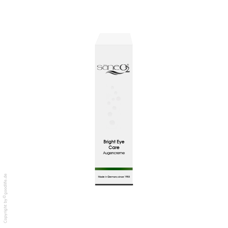 SaneO2 Sauerstoffkosmetik Bright Eye Care