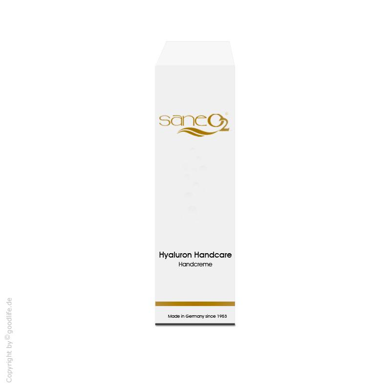Saneo2 Sauerstoffkosmetik Hyaluron Handcare