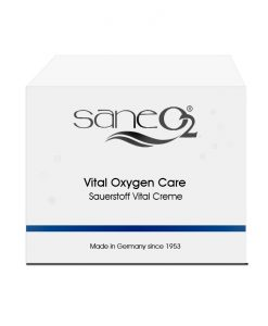 SaneO2 Sauerstoffkosmetik Sauerstoff Vital Creme