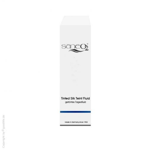 SaneO2 Sauerstoffkosmetik Tinted SilkTeint Fluid