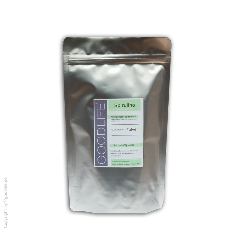 Spirulina Algen Pulver 500 g