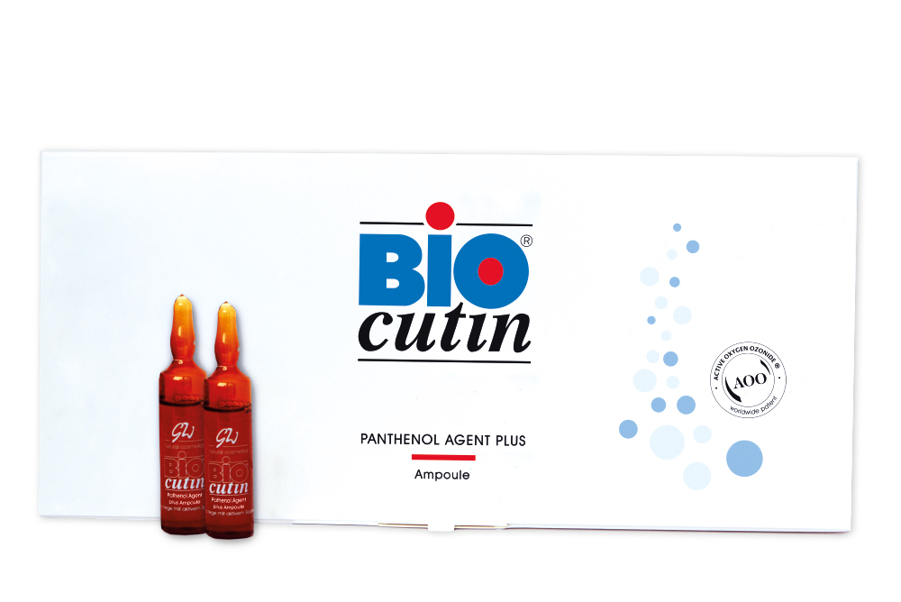 Biocutin Sauerstoffkosmetik Panthenol Agent plus Ampoule