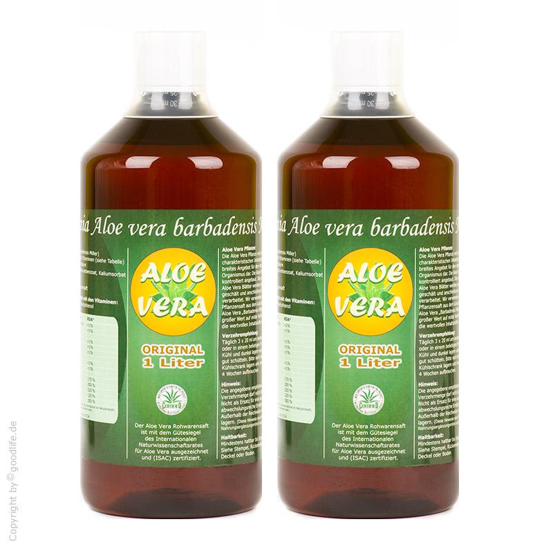 Aloe Vera Saft 2 Flaschen