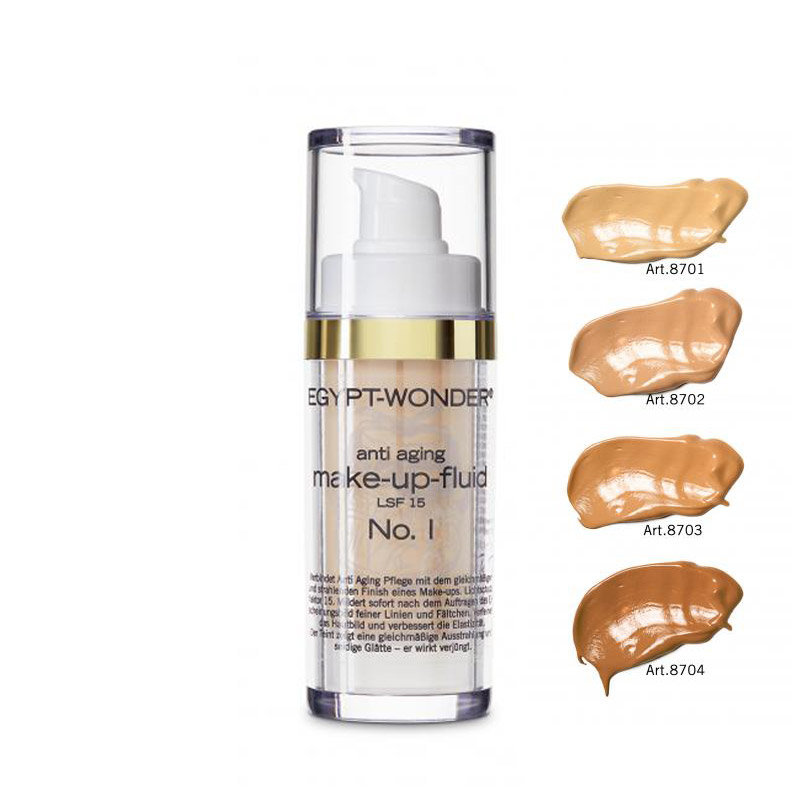 Tana Cosmetics Egypt Wonder Make-up-fluid 8701-8704